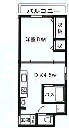 行平ビル[2階]の間取り