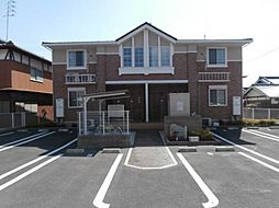 和歌山県橋本市岸上の賃貸アパートの外観