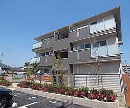京都府京都市西京区上桂前川町の賃貸アパートの外観
