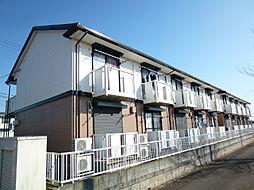 茨城県土浦市木田余東台1丁目の賃貸アパートの外観