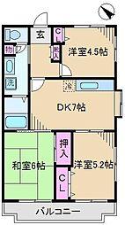 メゾンタカギ[2階]の間取り
