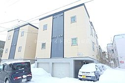 北海道札幌市東区北二十五条東16丁目の賃貸アパートの外観