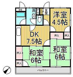 飯島第二ビル[1階]の間取り