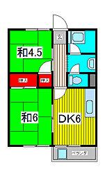 マンションナカムラ[5階]の間取り