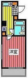 埼玉県川口市青木2丁目の賃貸マンションの間取り