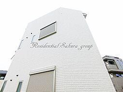 神奈川県鎌倉市腰越4丁目の賃貸アパートの外観