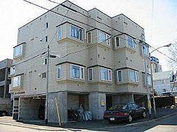 北海道札幌市清田区清田二条1丁目の賃貸アパートの外観