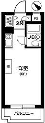 マリオン横浜第四花ノ木[405号室]の間取り