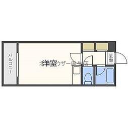 KOYASFIVE[3階]の間取り