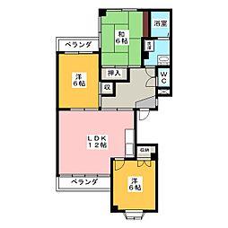 ドミール94[2階]の間取り