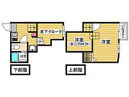 ベネフィスタウン七隈1[1階]の間取り