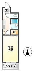DH白鳥[4階]の間取り