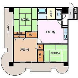 ARCO松本[6階]の間取り