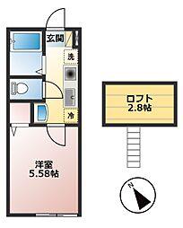 仮)小山1丁目新築物件[203号室]の間取り