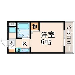 辻マンション[2階]の間取り