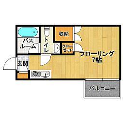 BELLE VIE[2階]の間取り