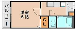 吉塚Mビル[2階]の間取り