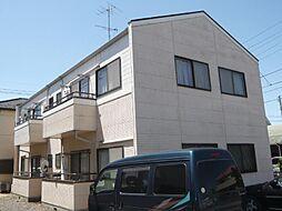 山崎ハイツA[201号室]の外観