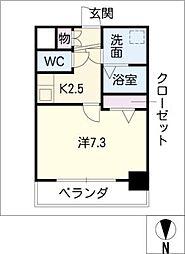 FLAT12[5階]の間取り