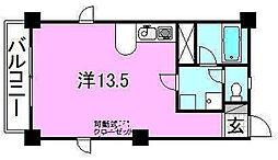 ベルハイム38[505 号室号室]の間取り
