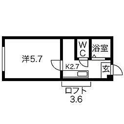 白石駅 1.9万円