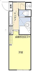 SSハイツ関町東[105号室]の間取り
