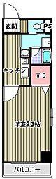 クレッシェ[2階]の間取り