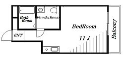 THE ROOM 新検見川[2階]の間取り