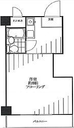 東京ベイビュウ[125号室]の間取り