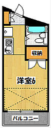 リバーガーデン[2階]の間取り