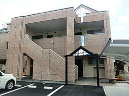 大阪府茨木市橋の内1丁目の賃貸アパートの外観