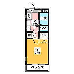 ファルマ・マスイ[4階]の間取り