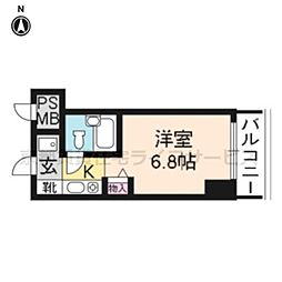 プラネシア京都[303号室]の間取り