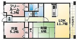 摩耶コート壱番館[8階]の間取り