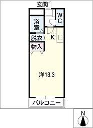 ウィートハウス[1階]の間取り