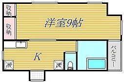 東京都江東区猿江1丁目の賃貸マンションの間取り