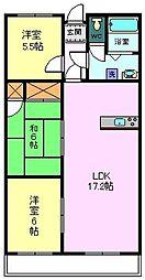 三島昭和ビル[3階]の間取り