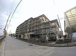 兵庫県宝塚市高司4丁目の賃貸マンションの外観