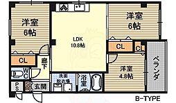 サファイス1番館 1階3LDKの間取り