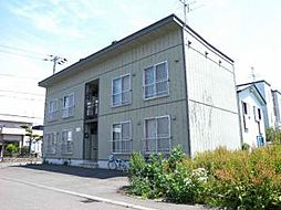 北海道札幌市東区北十九条東2丁目の賃貸アパートの外観
