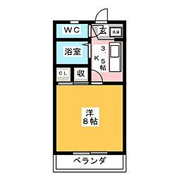 第5ハイツタマキ[2階]の間取り