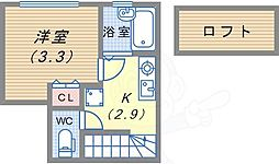 駒ヶ林駅 4.2万円