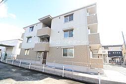JR伯備線 庭瀬駅 徒歩15分の賃貸アパート
