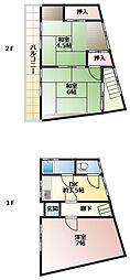 [一戸建] 兵庫県神戸市長田区堀切町 の賃貸【/】の間取り