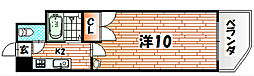 ニューエバーグリーン八幡[1010号室]の間取り