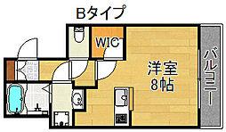 Ritz SQUARE Garden[1階]の間取り
