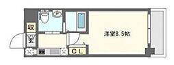 ウェリナ日本橋[7階]の間取り