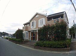 福岡県飯塚市多田の賃貸アパートの外観