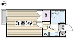 THE HOUSE N3[103号室]の間取り