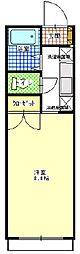 マンションヴィクトリーII[3階]の間取り